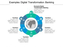 Examples Digital Transformation Banking Ppt Powerpoint Presentation Tips Cpb