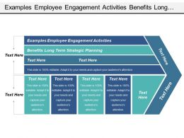 Examples Employee Engagement Activities Benefits Long Term Strategic Planning Cpb