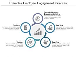 Examples Employee Engagement Initiatives Ppt Powerpoint Presentation File Templates Cpb