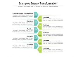 Examples Energy Transformation Ppt Powerpoint Presentation Professional Templates Cpb