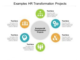 Examples HR Transformation Projects Ppt Powerpoint Presentation Inspiration Smartart Cpb