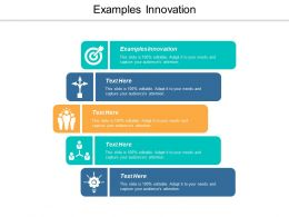 Examples Innovation Ppt Powerpoint Presentation Portfolio Design Inspiration Cpb