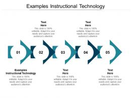Examples Instructional Technology Ppt Powerpoint Presentation Slides Download Cpb