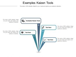 Examples Kaizen Tools Ppt Powerpoint Presentation Icon Topics Cpb