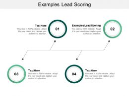 Examples Lead Scoring Ppt Powerpoint Presentation Ideas Styles Cpb