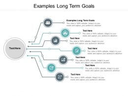 Examples Long Term Goals Ppt Powerpoint Presentation Pictures Maker Cpb