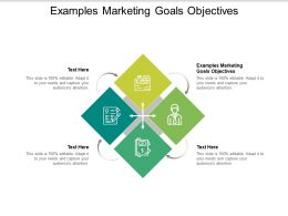 Examples Marketing Goals Objectives Ppt Powerpoint Presentation Professional Slideshow Cpb
