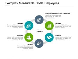 Examples Measurable Goals Employees Ppt Powerpoint Presentation Styles Example Cpb