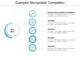 Examples Monopolistic Competition Ppt Powerpoint Presentation Model Cpb