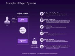 Examples Of Expert Systems Reaction Ppt Powerpoint Presentation Images