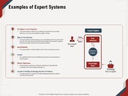 Examples Of Expert Systems Reasonable Period Ppt Powerpoint Presentation File Graphics Example