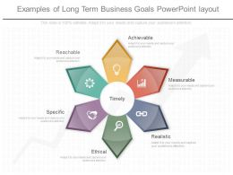 Examples Of Long Term Business Goals Powerpoint Layout