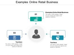 Examples Online Retail Business Ppt Powerpoint Presentation Summary Graphics Cpb