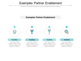 Examples Partner Enablement Ppt Powerpoint Presentation Portfolio Inspiration Cpb