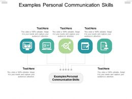 Examples Personal Communication Skills Ppt Powerpoint Portfolio Layouts Cpb