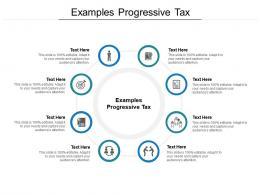 Examples Progressive Tax Ppt Powerpoint Presentation Professional Good Cpb