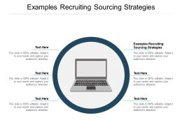 Examples Recruiting Sourcing Strategies Ppt Powerpoint Presentation Styles Aids Cpb