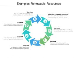 Examples Renewable Resources Ppt Powerpoint Presentation Outline Microsoft Cpb