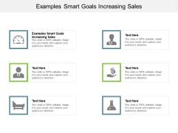 Examples Smart Goals Increasing Sales Ppt Powerpoint Presentation Ideas Cpb