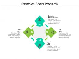 Examples Social Problems Ppt Powerpoint Presentation Infographics Slideshow Cpb