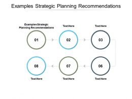 Examples Strategic Planning Recommendations Ppt Powerpoint Portfolio Cpb