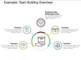 Examples Team Building Exercises Ppt Powerpoint Presentation Infographic Template Slides Cpb