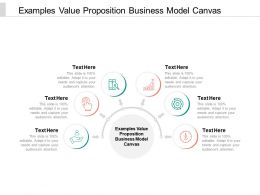 Examples Value Proposition Business Model Canvas Ppt Powerpoint Picture Cpb