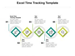 Excel Time Tracking Template Ppt Powerpoint Presentation Styles Outfit Cpb