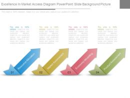 Excellence In Market Access Diagram Powerpoint Slide Background Picture