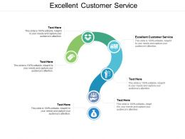 Excellent Customer Service Ppt Powerpoint Presentation Layouts Introduction Cpb