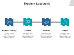 Excellent Leadership Ppt Powerpoint Presentation Infographic Template Deck Cpb