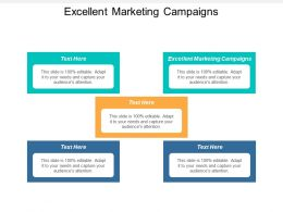 Excellent Marketing Campaigns Ppt Powerpoint Presentation Icon Guide Cpb