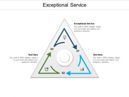 Exceptional Service Ppt Powerpoint Presentation Outline Example Introduction Cpb