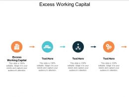 Excess Working Capital Ppt Powerpoint Presentation Slides Professional Cpb