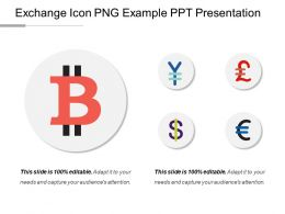 Exchange Icon Png Example Ppt Presentation