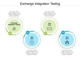 Exchange Integration Testing Ppt Powerpoint Presentation Slides Display Cpb