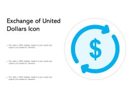 Exchange Of United Dollars Icon