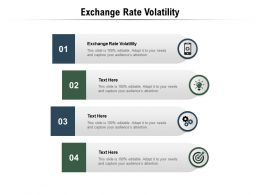 Exchange Rate Volatility Ppt Powerpoint Presentation Shapes Cpb