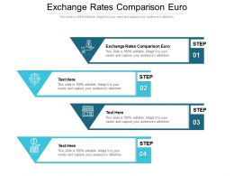 Exchange Rates Comparison Euro Ppt Powerpoint Presentation Gallery Graphics Download Cpb