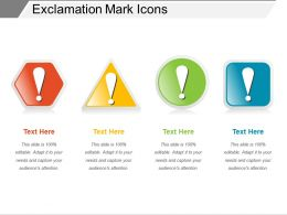 Exclamation Mark Icons
