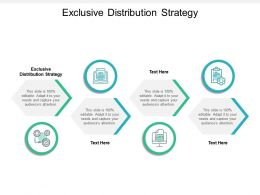 Exclusive Distribution Strategy Ppt Powerpoint Presentation Summary Introduction Cpb