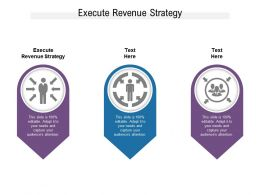 Execute Revenue Strategy Ppt Powerpoint Presentation Slides File Formats Cpb