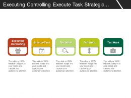 Executing Controlling Execute Task Strategic Sales Planning Alignment Change