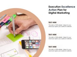 Execution Excellence Action Plan For Digital Marketing
