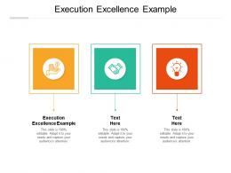 Execution Excellence Example Ppt Powerpoint Presentation Outline Graphics Example Cpb