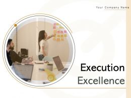 Execution Excellence Gear Strategy Accountability Process Service Skills
