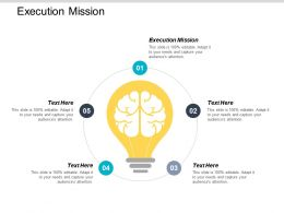 Execution Mission Ppt Powerpoint Presentation Gallery Outline Cpb