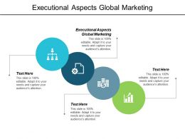 Executional Aspects Global Marketing Ppt Powerpoint Presentation Show Cpb