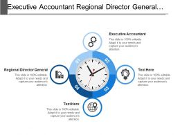 Executive Accountant Regional Director General Citizenship Survey Assumptions Targets