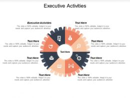 Executive Activities Ppt Powerpoint Presentation Ideas Inspiration Cpb